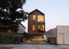 Contemporary and Practical Urban Duplex Unit in Seattle   Freshome comLever Homes Practical Urban Duplex