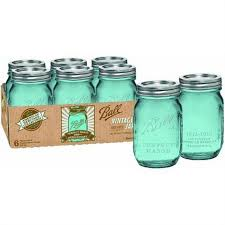 ball heritage collection blue pint jars ball mason jar solar lights