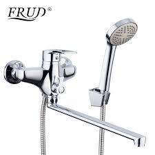 FRUD New Arrival <b>1 Set Zinc Alloy</b> Outlet Pipe Bath Shower Faucets ...