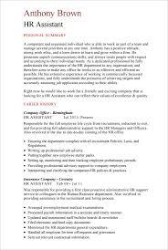 hr resume cv templates   hr templates  free  amp  premium    hr assistant cv template