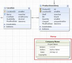 database diagram tool for sql serverstamp displays the information about a database diagram  and serves to identify a printed copy of the document
