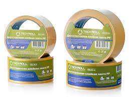 <b>Double</b>-<b>sided</b> PP <b>tapes</b> - Packing materials from TechRoll