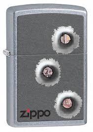 Купить <b>Зажигалка ZIPPO</b> 28870 <b>Bullet</b> Holes - Отверстия от <b>Пуль</b> ...