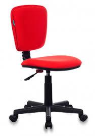 <b>Кресло Бюрократ CH</b>-<b>204NX</b>/<b>26-22</b> красный 26-22