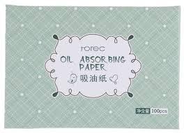 Rorec <b>Матирующие салфетки</b> Oil Absorbing Paper <b>100</b> шт.