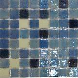 <b>Стеклянная мозаика Ezarri Fosfo</b> Blue Premium - Коллекция Fosfo ...