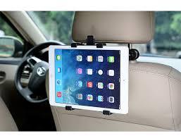Auto <b>Car rear seat bracket</b> universal tablet stand For iPad Samsung ...