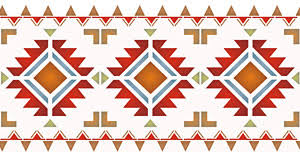The North Plains Border Stencil With Our Other Navajo Stencils  E