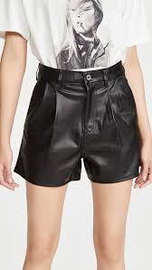 <b>Levi's</b> Hi Rise <b>Faux Leather Shorts</b> | SHOPBOP