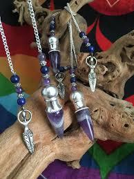 <b>Amethyst</b> Goddess <b>Pendulum</b> With Sacred Chamber | Crystals For ...