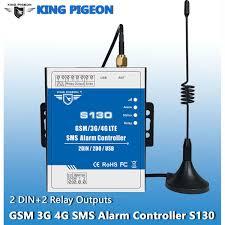 Wholesale King Pigeon <b>GSM</b>/<b>3G</b>/<b>4G SMS Alarm Controller</b> 2DIN ...