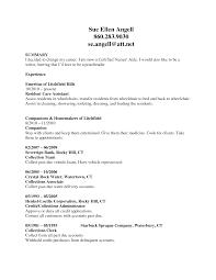 Certified Nursing Assistant Skills For Resume Resume For Your