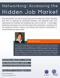 networking accessing the hidden job market canadian women in events
