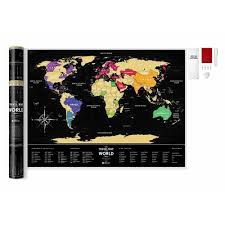 "Скретч-<b>карта</b> мира <b>Travel Map</b> ""Black World"", 60 х 80 см бренда ..."