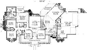 Dahlgren Country Victorian Home Plan D    House Plans and MoreCraftsman House Plan First Floor   D    House Plans and More