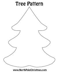 Christmas Tree #3 Pattern Print | <b>Felt christmas tree</b>, Felt christmas ...