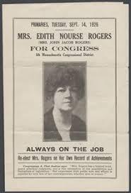 「Representative Edith Nourse Rogers of Massachusetts,」の画像検索結果