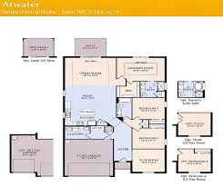 Pulte Homes   Florida New Homes for SaleAtwater Floor Plan
