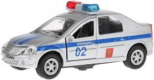 Машина инерционная со светом и звуком <b>Renault</b> Logan ...