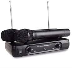 EXMAX® V-2 VHF Handheld Dynamic <b>Wireless Professional</b> ...