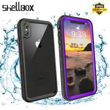 <b>SHELLBOX IP68 Waterproof Phone</b> Case For iPhone XR XS Max ...