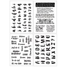 Flower stamps <b>Leaves Clear</b> Stamp 2019 <b>Rubber Transparent</b> ...