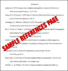 example of reference page apa format apa style reference page apa sample reference list example apa reference page apa template