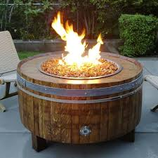 height fire pit table tall