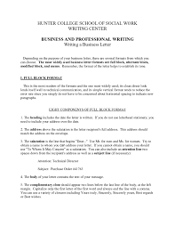 business letter format how to write a business letter business letter template 02