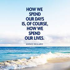 Quote About Living Life to the Fullest - Annie Dillard via Relatably.com