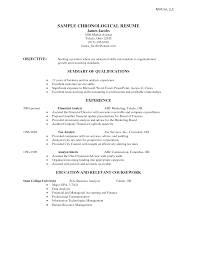 chronological resume format cipanewsletter chronological resume template format of resume in