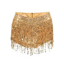 2019 Sexy <b>Tassel Sequin</b> Mini Shorts <b>Women</b> Zipper High Waist ...