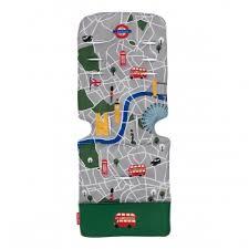 Универсальный <b>матрас</b> для <b>коляски Maclaren</b>, London City Map ...