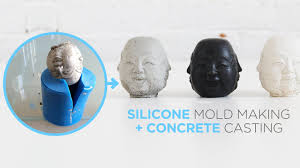 How to make <b>silicone</b> molds for casting concrete - YouTube