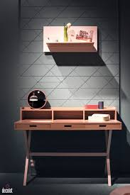 work desks home office. view in gallery slim desk with smart drawers for the home office from harto work desks