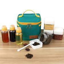 <b>7PCS</b> Spice <b>Jar</b> Pepper Shaker <b>Box</b> Seasoning Can Pepper Salt ...