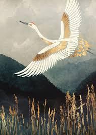<b>Elegant</b> Flight Nature Poster Print | <b>metal</b> posters in <b>2019</b> | Artwork ...