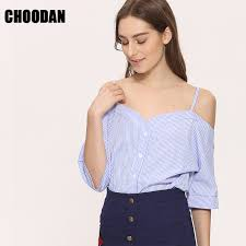 Off Shoulder Blouse Shirt Women <b>2018 Summer New Fashion</b> ...