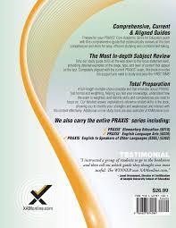 praxis core academic skills for educators  2017 praxis core academic skills for educators 5712 5722 5732 sharon a wynne 9781607874584 com books