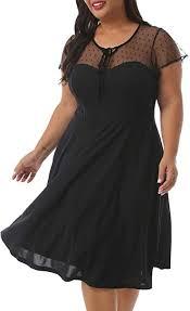 Nemidor Women's Vintage 1940s Style Short Sleeve ... - Amazon.com
