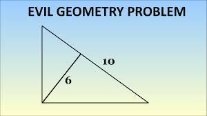 evil geometry problem evil geometry problem
