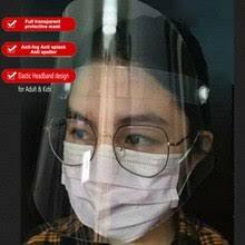 <b>Transparent</b> Protective <b>Face Shield</b> Kitchen Oil-Splash Proof Mask ...