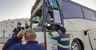 25 injured as tour bus crashes on 10 Freeway in downtown Los ...