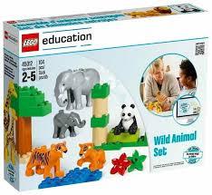<b>Конструктор LEGO Education PreSchool</b> DUPLO Дикие животные ...
