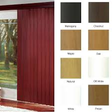 faux wood vertical blinds doors prowood faux wood vertical blinds  in w x custom length