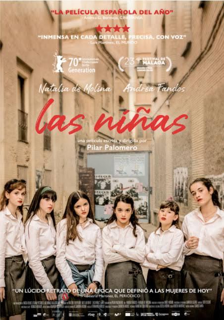"""""""Las niñas"""" mejor largometraje ficción Premios Forqué"""