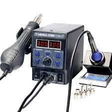 <b>YIHUA 8786D</b> I <b>New upgrade</b> Soldering Station Hot air gun electric ...