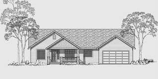 Single Level House Plans for Simple Living Homes Single level house plans  ranch house plans  bedroom house plans  private