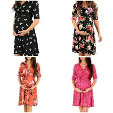 <b>2019 Pregnant Women</b> Summer <b>Dress 2019</b> Fashion V Neck ...