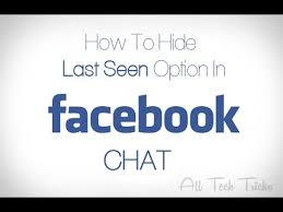 Image result for hide my last seen on facebook